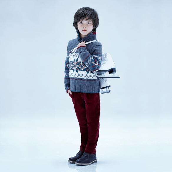Conjunto niño jersey y pantalón Jacadi