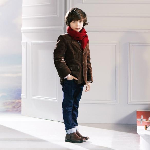 Look niño Jacadi americana y pantalón