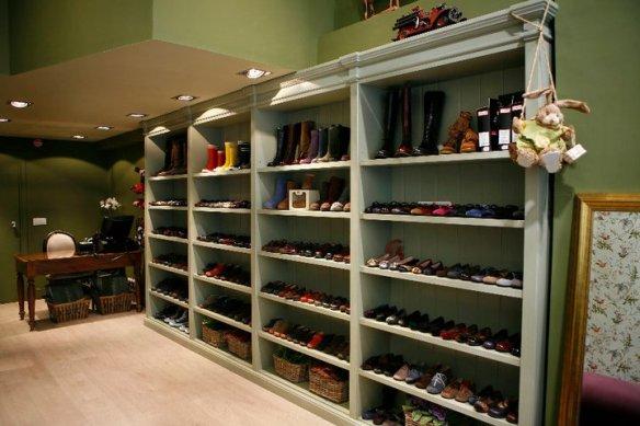 Tienda de calzado para niños y niñas Ganzitos en Madrid