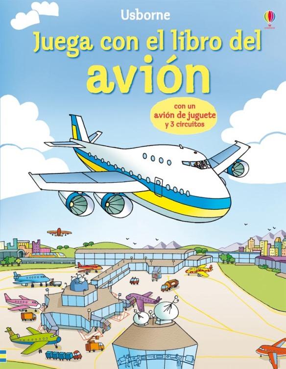 Libro-juego para niños Juega con el libro del avión de Ediciones Usborne