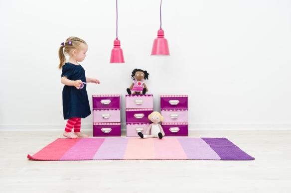Lámparas de techo de metal y en color rosa en Maison Artist