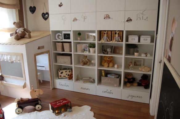 Siluetas y placas para personalizar muebles infantiles en Enfants et Maison