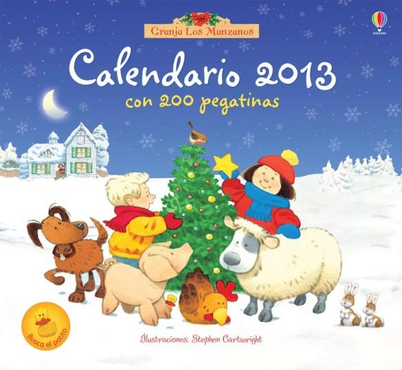 Calendario 2013 Usborne. Calendario para niños