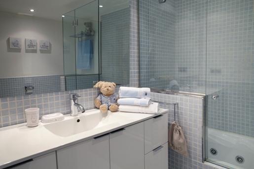 Complementos para la decoración de baños infantiles de Bagno di casa