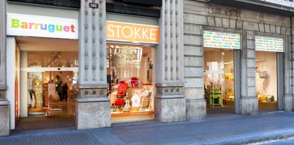 Espacio Stokke Barruguet Barcelona (exterior)