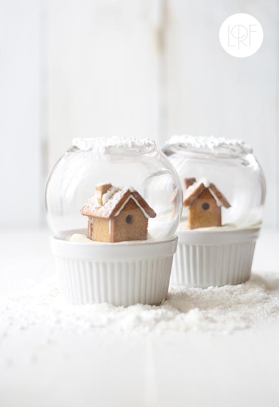 Galletas de jengibre en bola de Navidad, de La receta de la felicidad