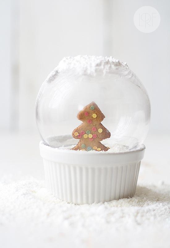 Galletas en bola de Navidad, de La receta de la felicidad