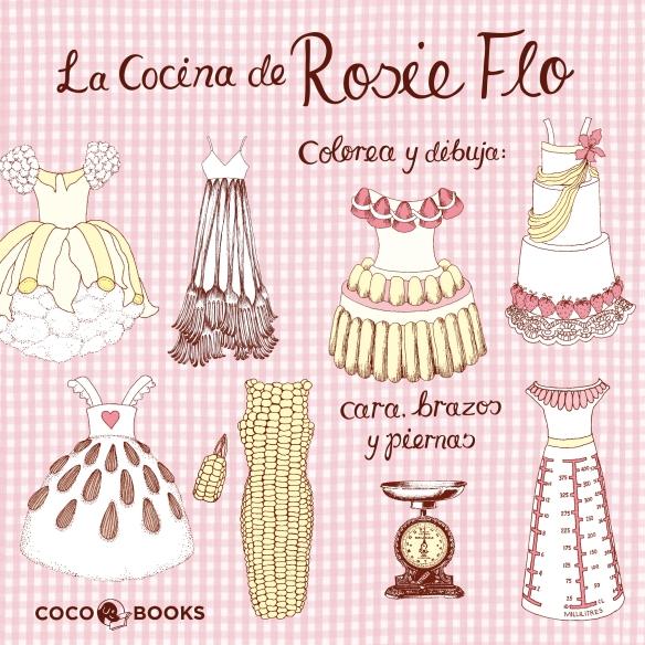 La cocina de Rosie Flo, de Coco Books, libro para dibujar