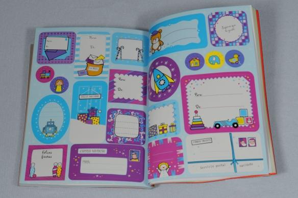 Pegatinas decorativas para la Navidad. Libro para niños. Usborne