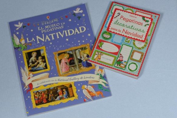 Libros de pegatinas de Navidad de Usborne