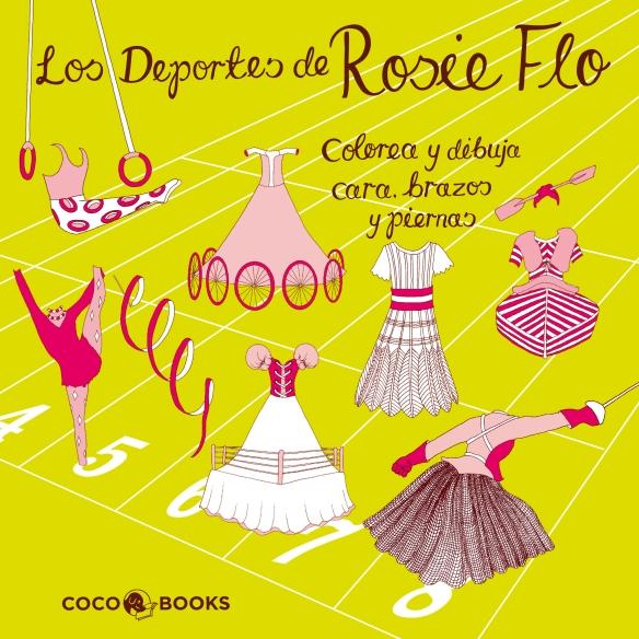 Los deportes de Rosie Flo, de Coco Books. Libro infantil y juvenil para dibujar