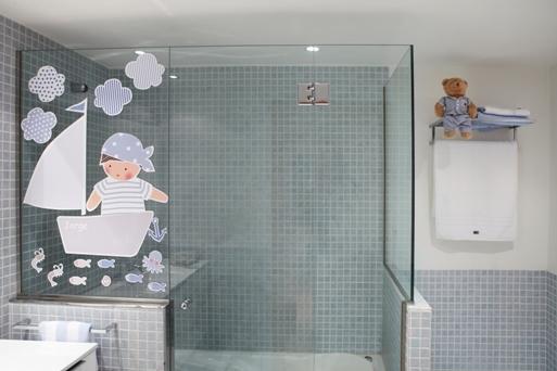 Vinilos decorativos para el baño de los niños de Bagno di casa