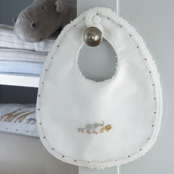 Babero Jacadi, colección de productos para bebés de Jacadi