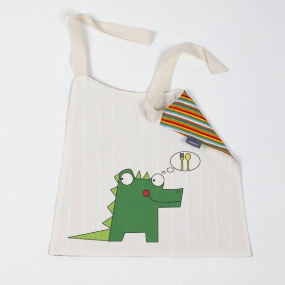Babero-servilleta dragón Micumacu