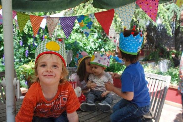 Coronas para celebraciones infantiles Micumacu