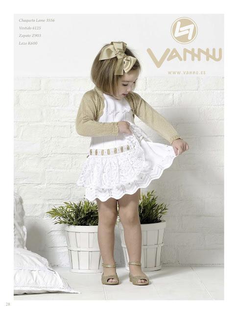 Chaqueta y vestido niña primavera verano 2013 de Carmen Taberner en Vannu