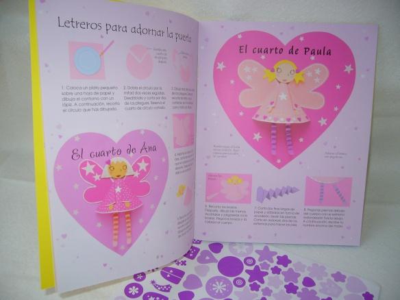 Cosas de hadas, libro de actividades para niñas de Usborne