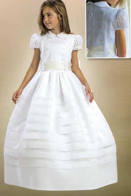 Vestido Comunión clásica Vannu. Comuniones 2013