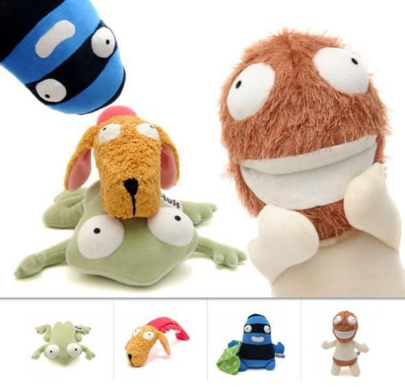 Muñecos para los miedos infantiles, en Kamchatka Magic Toys