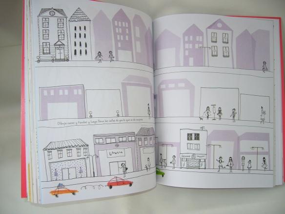 Dibujar y colorear con El gran álbum de la moda, de Usborne
