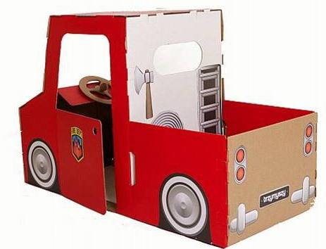 Camión de juguete de cartón Maison Artist