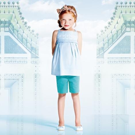 Look niña Le Labyrinthe de Paris Jacadi primavera-verano 2013
