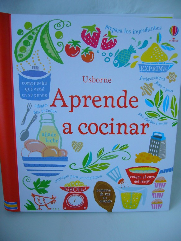 Aprende a cocinar, libro de cocina para niños de Usborne