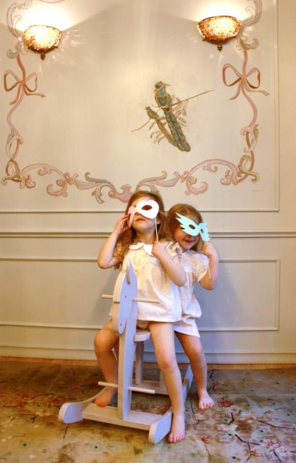 Vestidos niñas primavera-verano 2013 La Habitación de Nachete