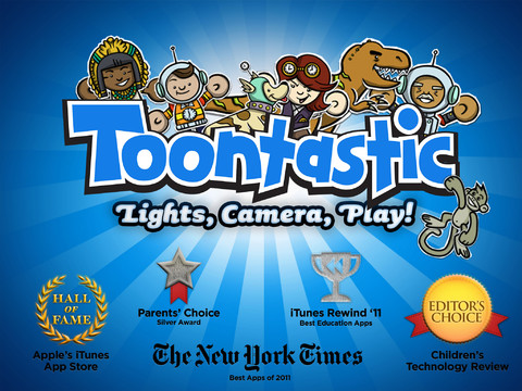 App para niñosToontastic, en iTunes
