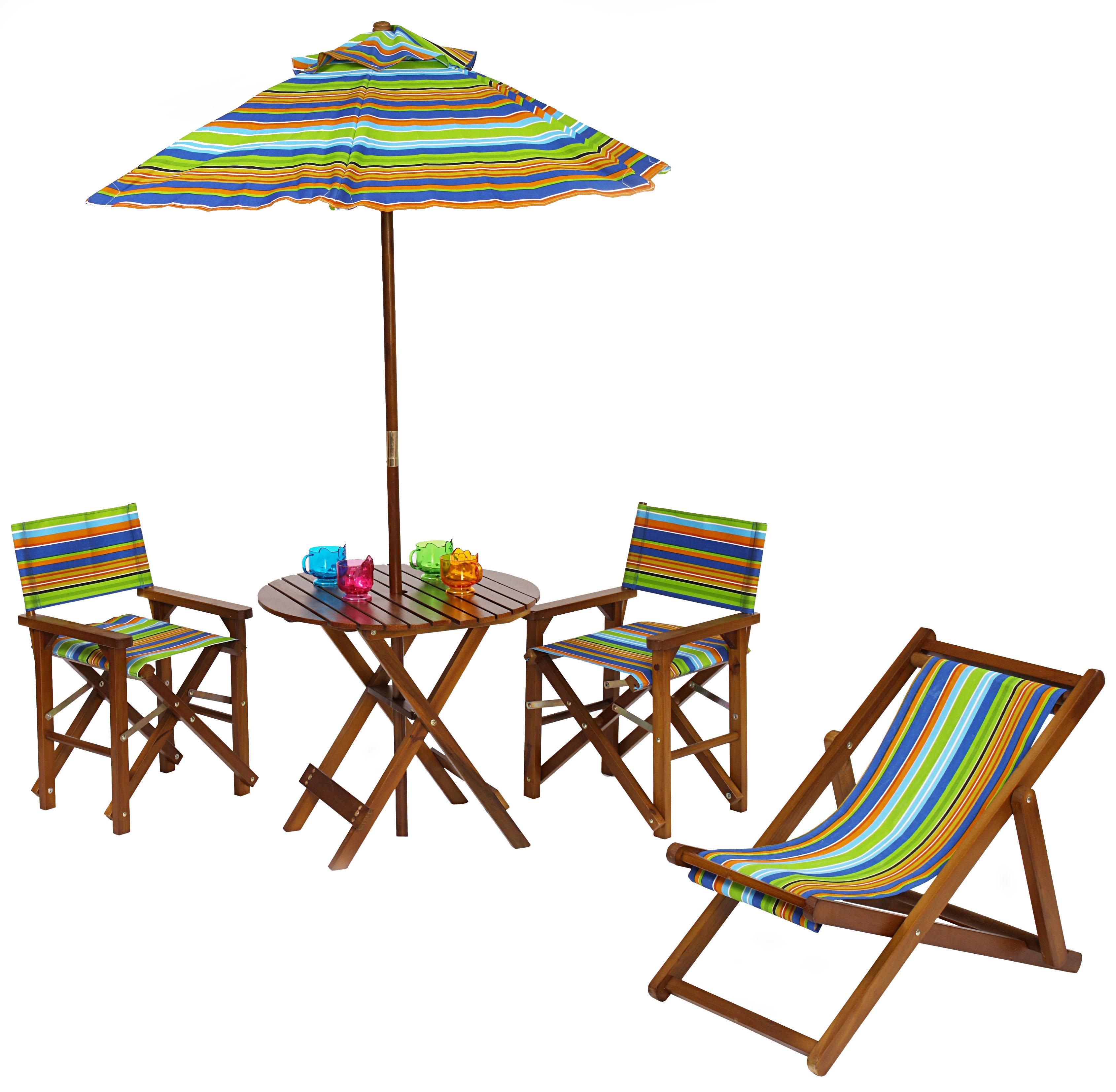 Sillas ideas y moda para ni os chic for Mesa y sillones para jardin