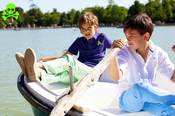 Polos, camisas y pantalones primavera-verano 2013 Scalpers Kids