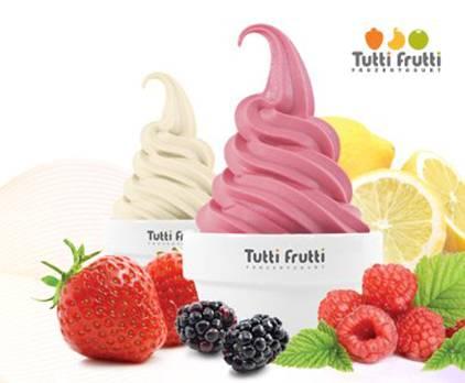 Tutti Frutti, yogurts helados