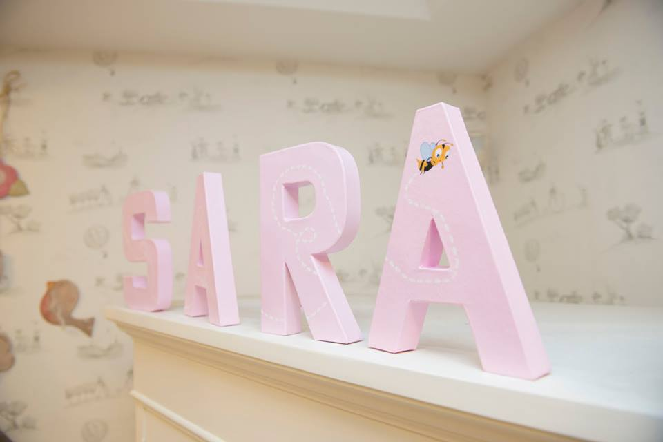 Decoracion Letras Carton ~ letras decoradas ichis jpg (960?640)  Letras decorativas  Pinterest