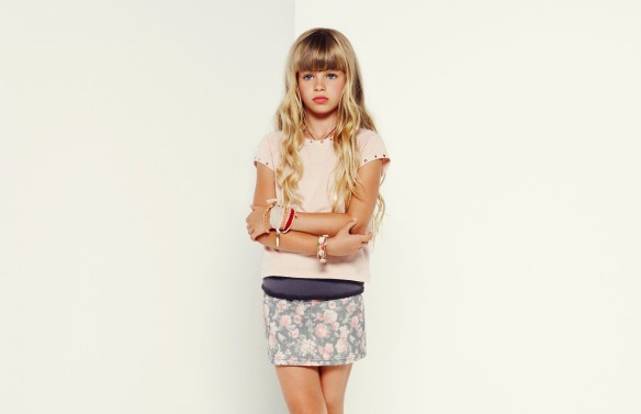Look niña Mango Kids
