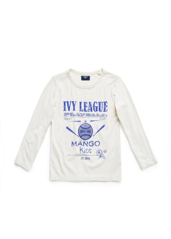 Camiseta para niños Mango Kids otoño-invierno 2013-14