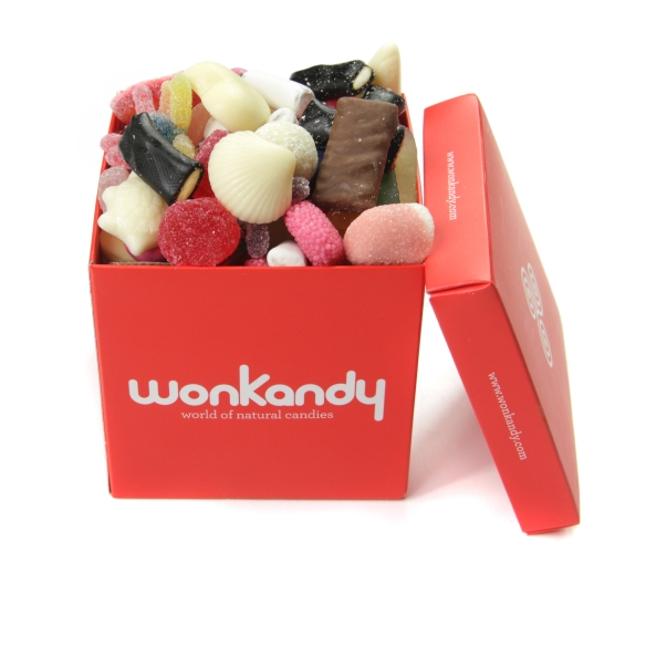 Pick&Mix chocolate y gominolas Wonkandy Barcelona