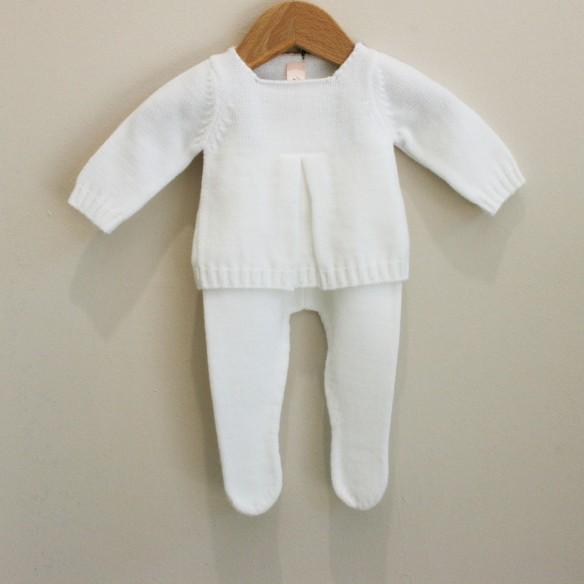 Conjunto blanco para bebés de Mamitis