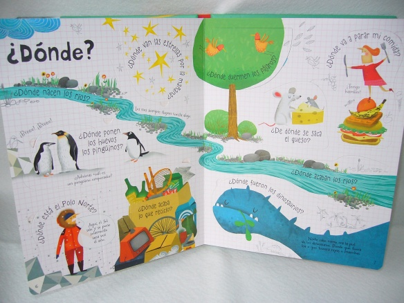 Libro de preguntas curiosas para niños, de Usborne
