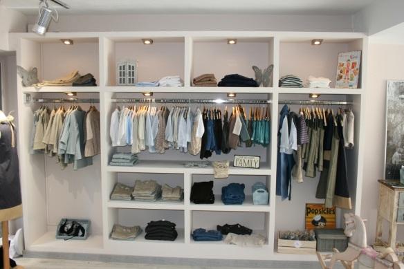 Tienda Mamitis de Barcelona, ropa para niños y niñas