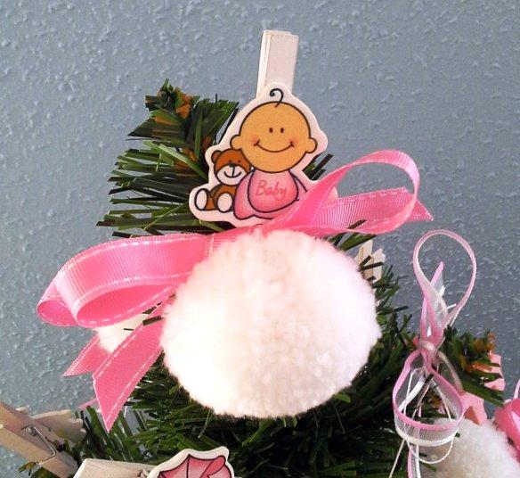Detalle del arbolito de Navidad Navi Baby Ella de Chez Bea