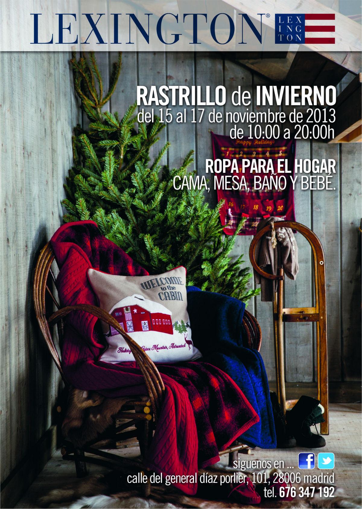 Rastrillo de invierno de lexington ideas y moda para - Rastrillos de muebles en madrid ...