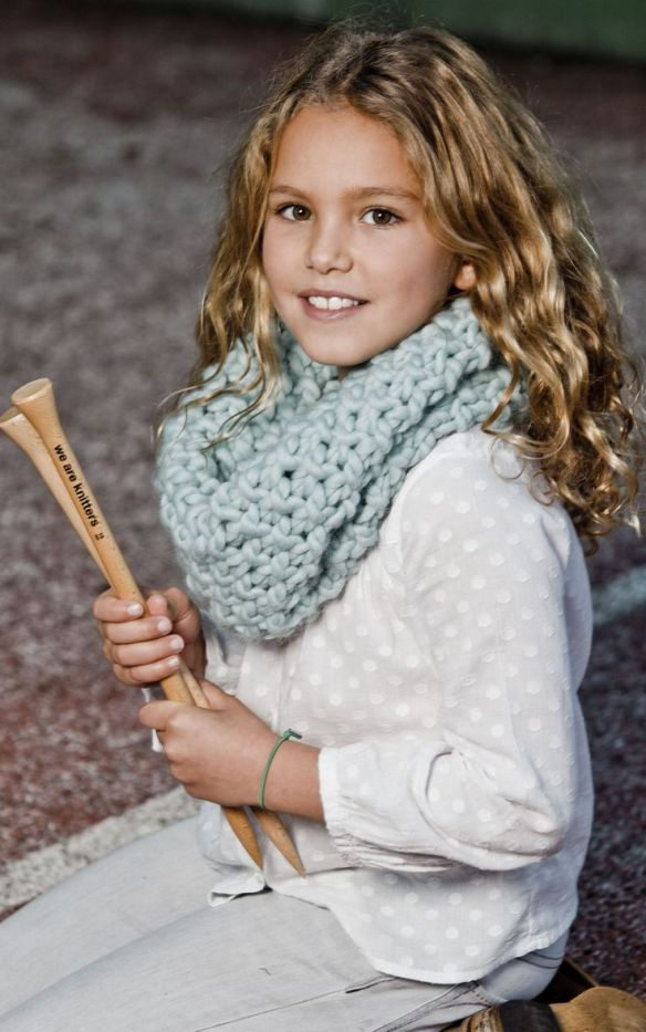 Mini downtown snood, kit para tejer de we are knitters