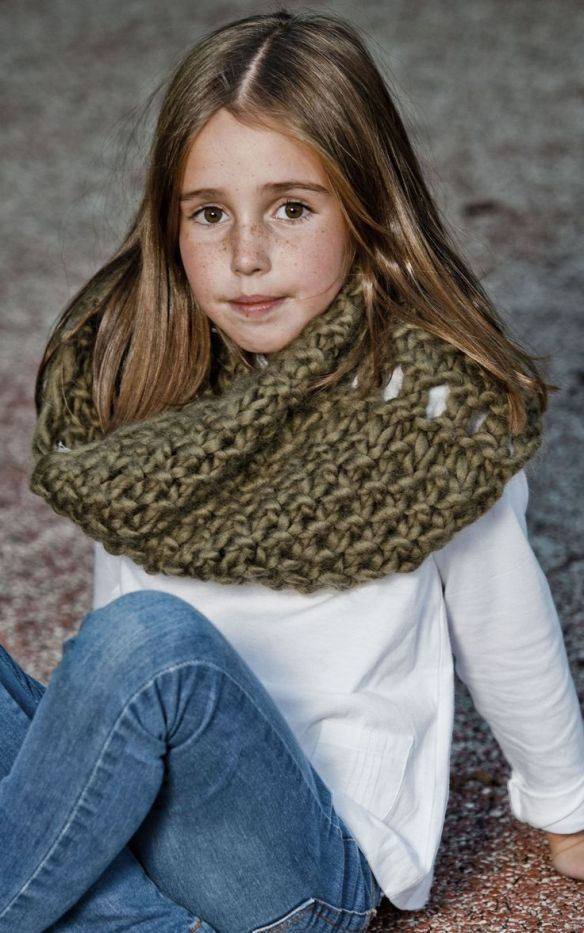 Mini soho snood, kit para tejer de we are knitters
