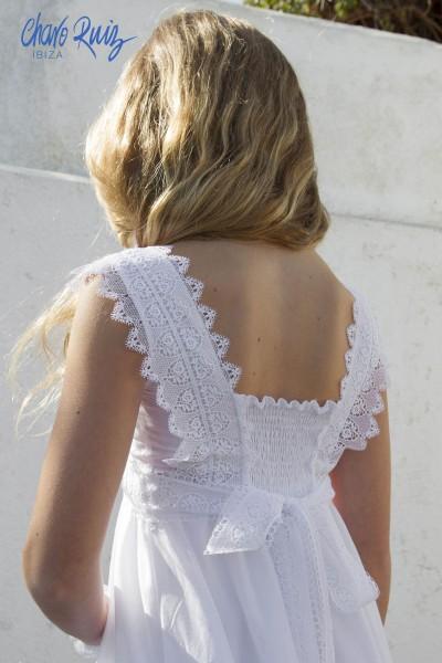 Vestido de Comunión Alicia, de Charo Ruiz