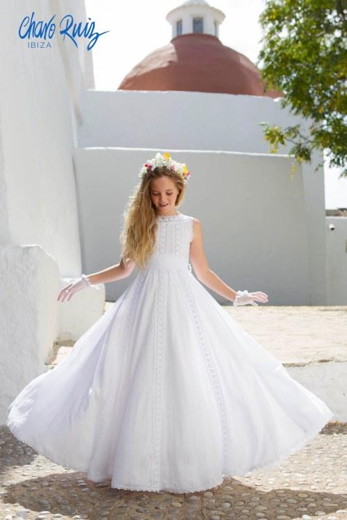 Vestido de Comunión Aurora, de Charo Ruiz
