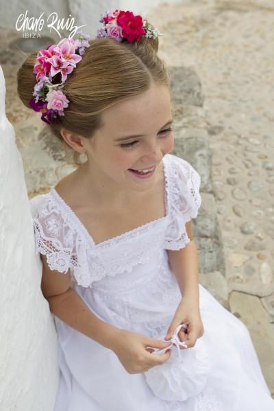 Vestido de Comunión Esmeralda, de Charo Ruiz