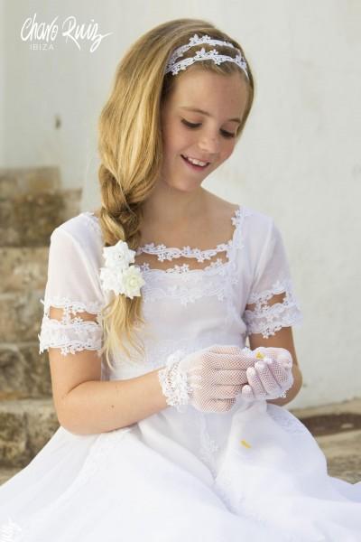 Vestido de Comunión Julieta, de Charo Ruiz