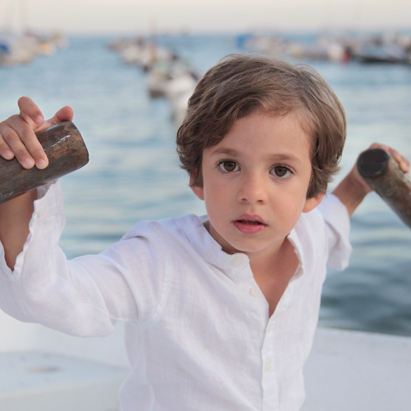 Camisa mao para niño, primavera-verano 2014 Mamitis