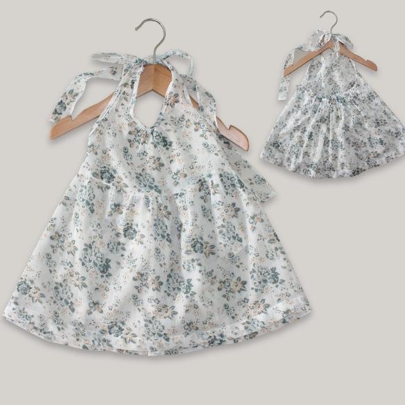 Vestido para niña primavera-verano 2014 Coquelicot