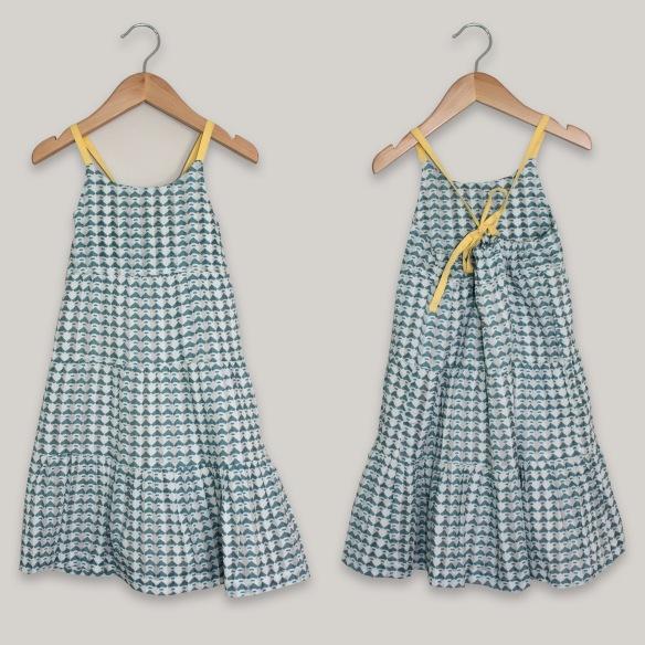 Vestido tirantes niña primavera-verano 2014 Coquelicot